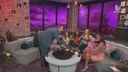 Omar Fierro conecta a las 'Netas Divinas' a una máquina de toques y bromea por poner a 'vibrar' a cinco mujeres