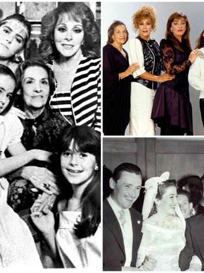 """La historia de la llamada """"Diva del cine mexicano"""" está de regreso en la pantalla de Las Estrellas con la bioserie Silvia Pinal Frente a ti, una producción de Carla Estrada y protagonizada por Itatí Cantoral. Así que para evitar confusiones, aquí te presentamos una breve guía para que entiendas quién es quién en la dinastía Pinal."""