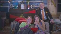 Pedro y Cris distraen a Luis con una película de terror