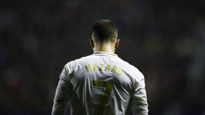 Eden Hazard llegó al Real Madrid con la intensión de romperla y lo único que se ha difuminado son sus sueños merengues. Esto es lo que ha sucedido con el '7' del Madrid.