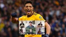¡Qué emotiva! Banda de Wolves dedica canción a Raúl Jiménez