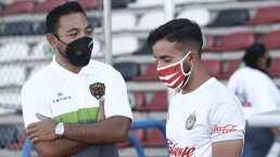 Marco Fabián está en la cancha de FC Juárez