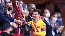 Messi valora ganar la Copa del Rey con Barça