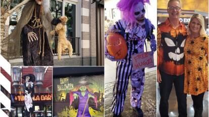 Así se vive la celebración de Halloween en Las Vegas en la semana de la pelea entre el 'Canelo' Álvarez y Kovalev.