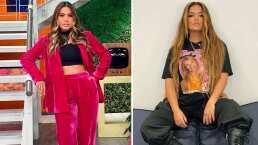 Galilea Montijo se avienta un twerking al ritmo de 'Bichota' por los pasillos de Televisa