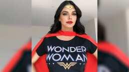 Livia Brito se convierte en la 'Mujer Maravilla' y así lo presume en redes sociales
