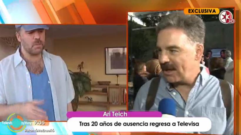 Tras 20 años de ausencia, Ari Telch regresa a Televisa con 'La Candidata'