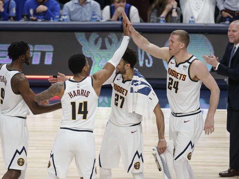 Dallas Mavericks 106-107 Denver Nuggets