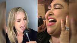 Video: Erika Buenfil te pondrá la piel chinita cuando la veas 'cantar' éxito de Amanda Miguel