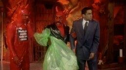 XHDRBZ: El Diablito y su padre expulsan a diputado del infierno