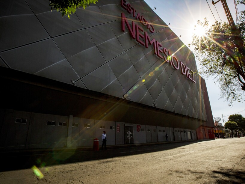 Mexican Soccer Stadiums Remain Empty Due To Coronavirus