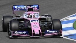 Sergio Pérez arranca octavo en el Gran Premio de Alemania
