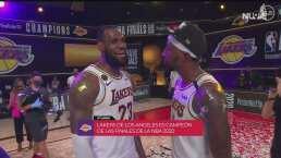 ¡LeBron James lo hace de nuevo! Lakers consigue su título 17