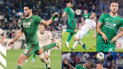 Wolverhampton se impone al Slovan Bratislava con goles de Romain Saiss y Raúl Jiménez, que dejan el marcador 2-1.