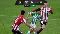 Athletic de Bilbao le pega baile al Betis de Guardado y Lainez