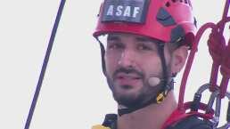 Asaf gana el reto de altura y se lo dedica a Lairen