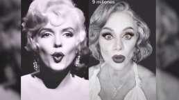 Erika Buenfil se transforma en Marilyn Monroe y asombra con su gran parecido (VIDEO)