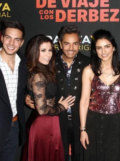 Además de ser uno de los actores y comediantes más talentosos en México, Eugenio Derbez cuenta con una de las familias más famosas de la farándula mexicana, pues tres de sus cuatro hijos -Aislinn, Vadhir y José Eduardo- también son actores, así como su esposa, Alessandra Rosaldo.