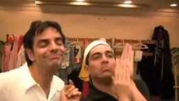 ¡Se adelantaron a su época! Eugenio Derbez y Omar Chaparro hacían Tik Tok antes de que la plataforma existiera