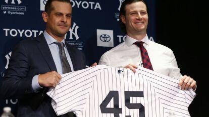 El pitcher llega como el Cy Young de la Liga Americana y con un contrato de 324 millones de dólares, procedente de los Houston Astros.
