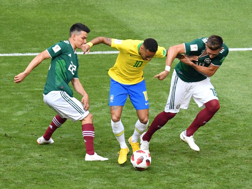 Brazil v Mexico: Round of 16 - 2018 FIFA World Cup Russia