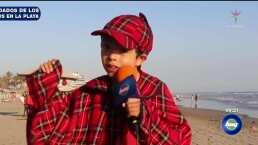 El inspectorcito: cuidados de los niños en la playa
