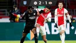 Edson Álvarez y Ajax se instalan en Semifinales de la Copa de Holanda