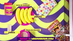 Paletas de plátano