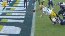 ¡Reacciona Rodgers! El quarterback responde con TD y conversión