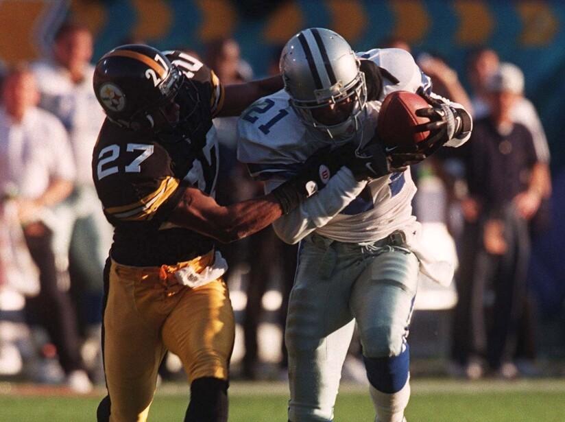 AMERICAN FOOTBALL: NFL SUPERBOWL 1996 PITTSBURGH STEELERS