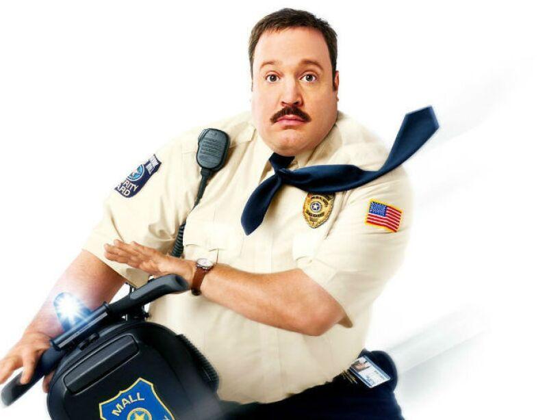 14. Kevin James: Conocido por su actuación en la serie The King of Queens, y las cintas Mall Cop y Grown Ups.