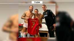 Cristiano Ronaldo y Sergio Ramos presumen reencuentro