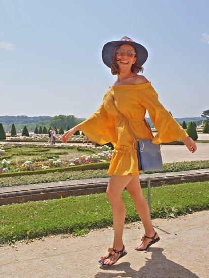 Ingrid Coronado sorprendió a sus 973 mil seguidores de Instagram al compartir varias imágenes de su viaje a París, Francia.