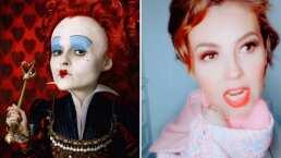 'Tú hurtaste mis tartas': Thalía se convierte en la 'Reina Roja' y revive icónica escena de 'Alicia en el País de las Maravillas'
