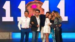 Galilea Montijo y Andrea Legarreta abrazan a Andrea Escalona al recordar el último adiós a su madre