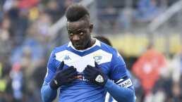 ¡Despedido! Brescia se harta y rescindirá el contrato de Balotelli