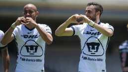 "González alaba dupla con Dinenno: ""Difícil jugar con dos centros delanteros"""