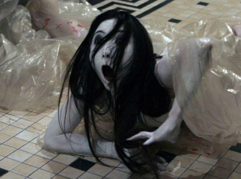 10. Sadako: Otro fantasma vengativo, pero en esta ocasión en la versión americana de La Maldición (2004).
