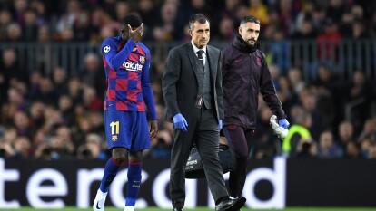Se confirmó la baja del francés, Ousmane Dembelé tras sufrir una lesión muscular en el bíceps femoral del muslo derecho, de tal forma que se ausentará por un periodo de 10 semanas.<br />