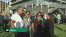 Fans mexicanos ya están en Arabia Saudita para apoyar a Andy Ruiz