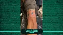 El Chapo Montes tiene tatuado a León... literal