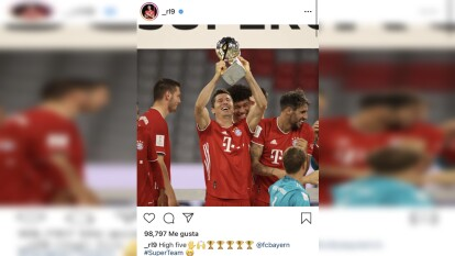 El Bayern Múnich vuelva a ganar una final esta temporada y ya firma su quintete al añadir la Supercopa de Alemania a su vitrina de la temporada.