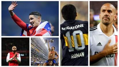 Fernando Torres, Thierry Henry, Román Riquelme, Carlos Tévez y Juan Sebastián Verón volvieron a donde fueron felices.