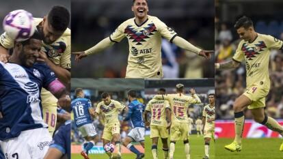 Con goles de Nicolás Castillo al 65 y Andrés Ibarguen al 82, América gana y llega a 25 puntos.